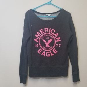 American eagle outfitters gray sweater sz small
